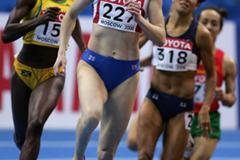Olga Kotlyarova at the Moscow World Indoor Champs (Getty Images)
