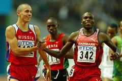 Wilson Kipketer of Denmark qualifies for the 800m final (Getty Images)