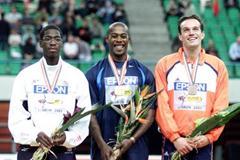 Lisbon 2000 Men's 200m (© Allsport)