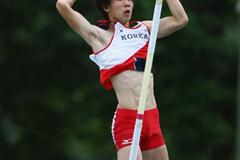 Minsub Jin of Korea on his way to gold (Getty Images)