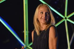 Paula Radcliffe at the Great North Run Million Opening Ceremony, 4 September 2014 (North News and Pictures / organisers)