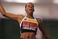 6.68m PB for Shara Procter in Sheffield (Getty Images)