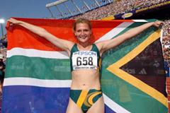 High Jump Final - Hestrie Cloete (© Allsport)