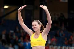 Fabiana Murer at the 2014 IAAF Diamond League in Glasgow (Victah Sailer)