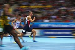Richard Kilty in the 60m at the 2014 IAAF World Indoor Championships in Sopot (Getty Images)