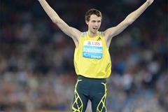 Bohdan Bondarenko, winner of the High Jump at the 2013 IAAF Diamond League meeting in Zurich (Jiro Mochizuki)