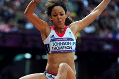 Katarina Johnson-Thompson in London (Getty Images)