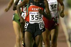 Veronica Nyaruai Warijiru of Kenya runs during the 3000m final at the World Youth Championships (Getty Images)