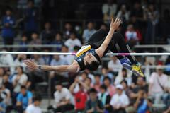 Bogdan Bondarenko at the 2015 Seiko Golden Grand Prix in Kawasaki (Getty Images)