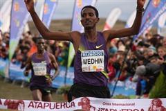 Teklemariam Medhin upsets Joseph Ebuya in Atapuerca (Alfambra Fundación ANOC)