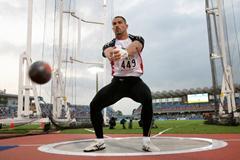 Koji Murofushi returns to action with a 80m+ throw in Kawasaki (Kazutaka Eguchi/Agence SHOT)
