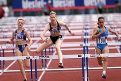 Debrecen 2001 - Kathrin Geissler (© Allsport)