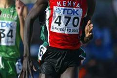Brimin Kipruto runs to 2004 World Junior 1500m bronze (Getty Images)