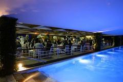 Rio Yacht Club the spectacular setting for the IAAF Dinner of Rio 2008 (Getty Images)