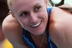 Sally Pearson at the IAAF World Challenge meeting in Melbourne (Getty Images)