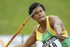 Julio Cesar de Oliveira of Brazil winner of the Javelin Throw in Sherbrooke (Getty Images)