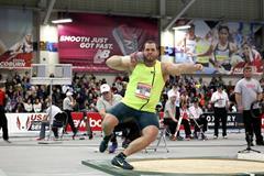 Ryan Whiting at the 2015 New Balance Indoor Grand Prix in Boston (Victah Sailer)