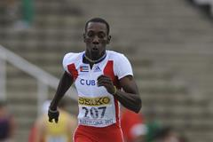 Pedro Pichardo of Cuba competes for winning the Men's Triple Jump Final on day six of the 14th IAAF World Junior Championships in Barcelona on 15 July 2012 (Getty Images)