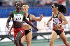 Senegal's 400m World Champion Amy Mbacke Thiam (723) (Getty Images)