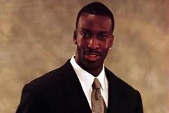 Michael Johnson - 1999 Male athlete of the Year (© Allsport)