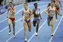 Olesya Krasnomovets of Russia on her way to winning gold in the 400m final (Getty Images)