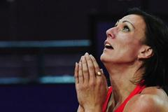 Natalya Antyukh of Russia is happy to be gold winner in the Women's 400m Hurdles Final on Day 12 of the London 2012 Olympic Games at Olympic Stadium on August 8, 2012 (Getty Images)