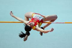 Fifth time lucky for Ruth Beitia in the High Jump at the European Indoor Championships (Getty Images)
