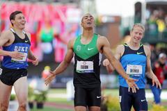 Curtis Beach, Ashton Eaton and Joe Detmer at the 2012 US Olympic Trials ()