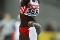 Yargelis Savigne of Cuba wins gold in the women's Triple Jump (Getty Images)