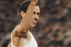 Steve Ovett after winning the 800m at the 1980 Olympic Games (Getty Images)