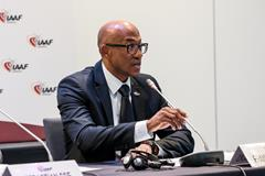 IAAF Council Member Frank Fredericks (Philippe Fitte)