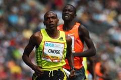 Augustine Kiprono Choge on his way to a world leading 1500m mark and a PB in Berlin (Getty Images)