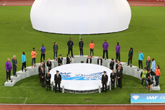 The Diamond Race winners at the IAAF Diamond League meeting in Zurich (Jean-Pierre Durand)