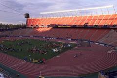 General View of the Commonwealth Stadium (© Allsport)