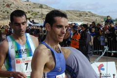 Roncero after his win in Yecla (Pascual Aguilera - Il Faro - for the IAAF)