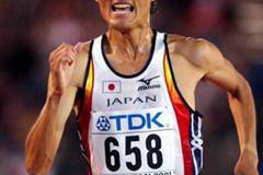 Toshinari Takaoka sprints home in Edmonton (Getty Images)
