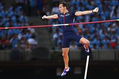 Renaud Lavillenie in the pole vault at the IAAF World Championships, Beijing 2015 (Getty Images)