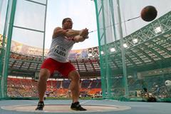 Poland's Pawel Fajdek at the 2013 IAAF World Championships (Getty Images)