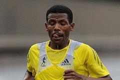 Haile Gebrselassie at the 2013 Bupa Great North Run (Getty Images)