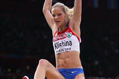 Darya Klishina soars to her first senior title in Paris (Getty Images)