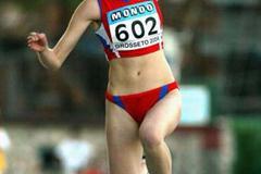 Anastasiya Taranova of Russia wins women's Triple Jump Final (Getty Images)