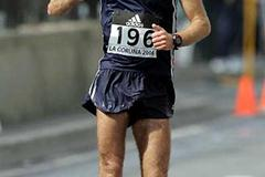 Norwegian Trond Nymark bettered his PB by nearly three minutes - La Coruña (Getty Images)
