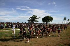 General view - Senior women's race, Mombasa 2007 (Getty Images)
