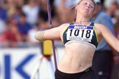 Debrecen 2001 - Kimberly Mickle (© Allsport)