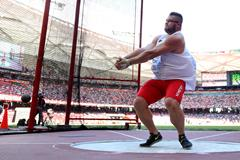 Pawel Fajdek in the hammer qualification at the IAAF World Championships, Beijing 2015 (Getty Images)