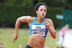 Katarina Johnson-Thompson at the 2015 Decastar meeting in Talence (Jean-Pierre Durand)