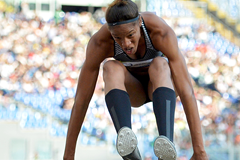 Yulimar Rojas in action in the triple jump (AFP / Getty Images)