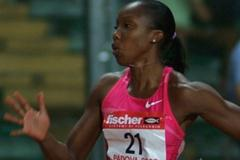 Sherone Simpson continues her comeback from injury in Padua (Lorenzo Sampaolo)