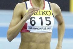 Jo Fenn (GBR) in the semi finals of the women's 800m (Getty Images)