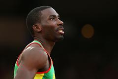 Grenada's Kurt Felix in the decathlon (Getty Images)